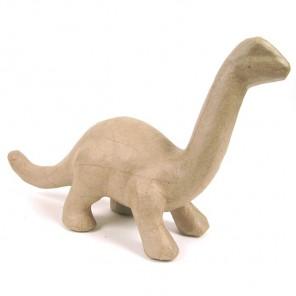 Динозавр 8х29х16 Фигурка из папье-маше объемная