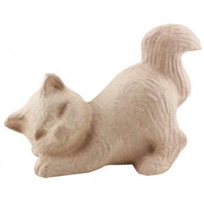 Котенок малая Фигурка из папье-маше объемная Decopatch