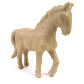 Лошадь 6х19х16,5 Фигурка из папье-маше объемная