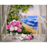 Песня волн Раскраска картина по номерам на холсте GX23064