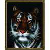 Портрет тигра Алмазная мозаика вышивка на подрамнике GZ-A1273