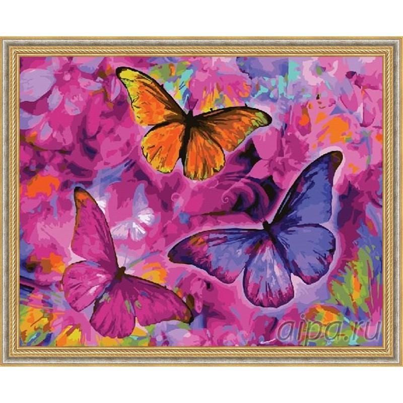 GX22267 Сон с бабочками Раскраска картина по номерам на ...