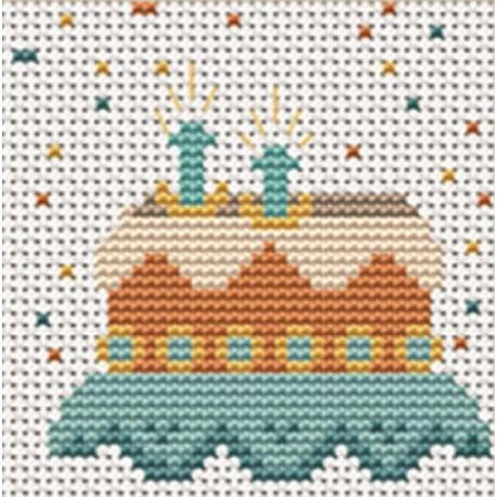 Тортик Набор для вышивания LUCA-S
