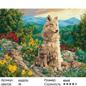 Количество цветов и сложность Счастливая мать Раскраска картина по номерам на холсте GX22721