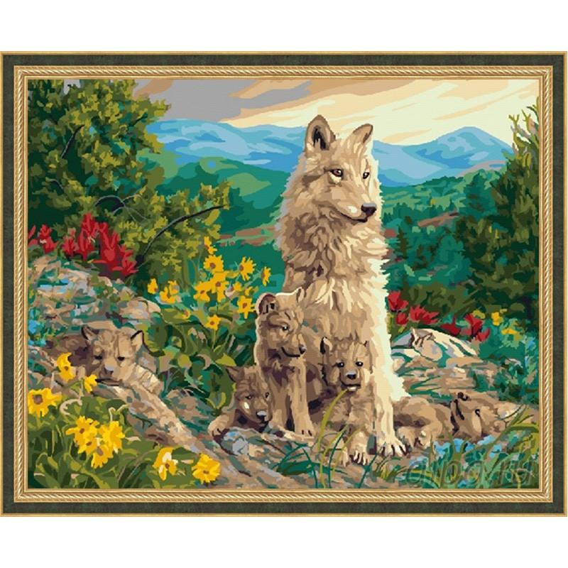 GX22721 Счастливая мать Раскраска картина по номерам на ...