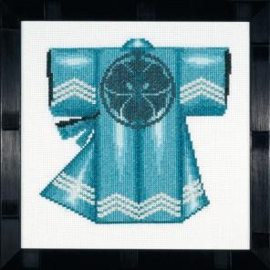 Kimono - Blue Набор для вышивания LanArte PN-0008204