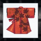 Kimono - Red Набор для вышивания LanArte PN-0008205