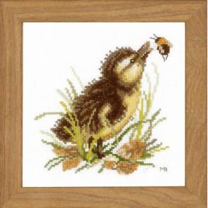 Duckling and bumble bee Набор для вышивания LanArte PN-0146977