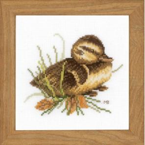 Duckling at rest Набор для вышивания LanArte PN-0146976