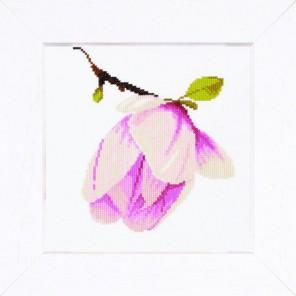 Magnolia Bud Набор для вышивания LanArte PN-0008303