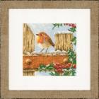 Curious Robin Набор для вышивания LanArte PN-0021836