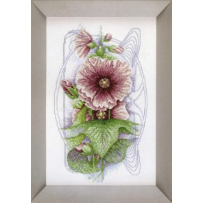 Bristly Hollyhock Набор для вышивания LanArte PN-0008220