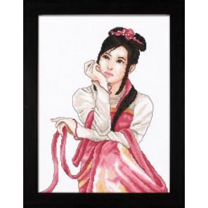 Young Japanese woman Набор для вышивания LanArte PN-0008290