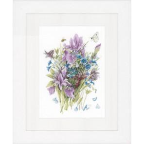 Irises Набор для вышивания LanArte PN-0147543