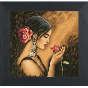 Spanish Beauty Набор для вышивания LanArte PN-0008339