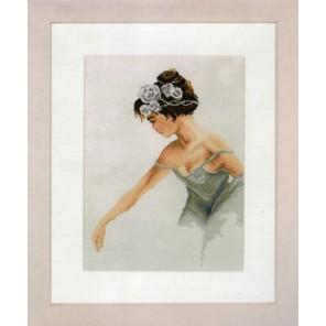 Ballerina Набор для вышивания LanArte PN-0008254