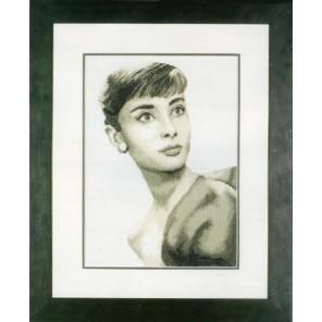 Audrey Hepburn Набор для вышивания LanArte PN-0008255