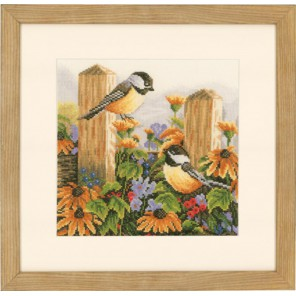 Chatting Birdsl Набор для вышивания LanArte PN-0021834