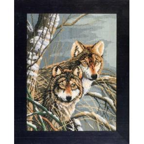 Wolves Набор для вышивания LanArte PN-0008333