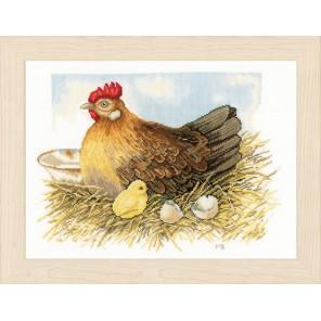 Mother hen Набор для вышивания LanArte PN-0165381
