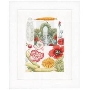 Vegetable Garden Набор для вышивания LanArte PN-0149992