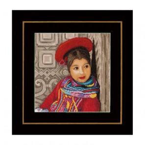 Peruvian girl Набор для вышивания LanArte PN-0149286