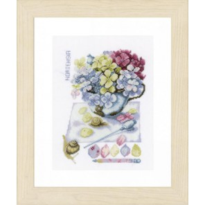 Hortensia Набор для вышивания LanArte PN-0154329