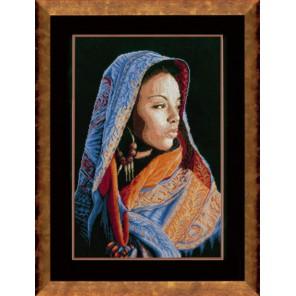 African lady Набор для вышивания LanArte PN-0149998
