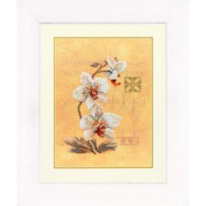Three Orchids Набор для вышивания LanArte PN-0008008