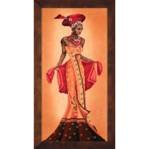 African Fashion - I Набор для вышивания LanArte PN-0008096