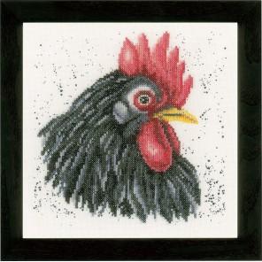 Black chicken Набор для вышивания LanArte PN-0157489