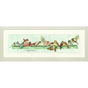 The Pecking Order M.B. Набор для вышивания LanArte PN-0007963