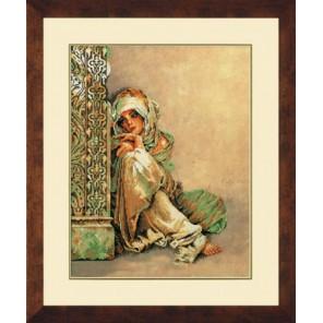 Arabian Woman Набор для вышивания LanArte PN-0008001