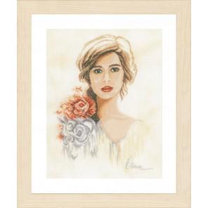 Romantic lady Набор для вышивания LanArte PN-0158331