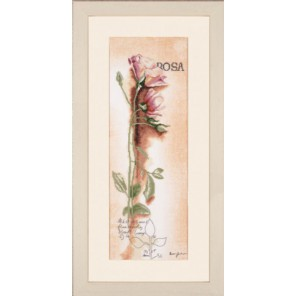 Rosa - Botanical Набор для вышивания LanArte PN-0008050