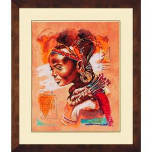 African Woman Набор для вышивания LanArte PN-0008009