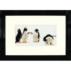 Quartet Of Penguins Набор для вышивания LanArte PN-0008166