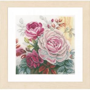 Pink rose Набор для вышивания LanArte PN-0165376