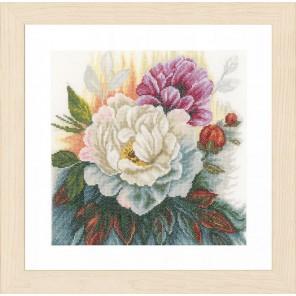 White rose Набор для вышивания LanArte PN-0165377