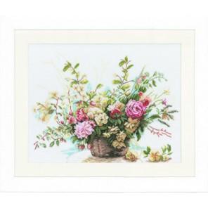 Booket Of Roses Набор для вышивания LanArte PN-0008004