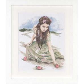 A Day of Romance Набор для вышивания LanArte PN-0008186