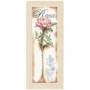 Pink Rose Набор для вышивания LanArte PN-0154334