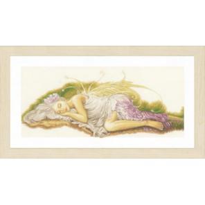 Sleeping Angel Набор для вышивания LanArte PN-0150006