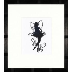Cute Little Fairy Silhouette Набор для вышивания LanArte PN-0008195
