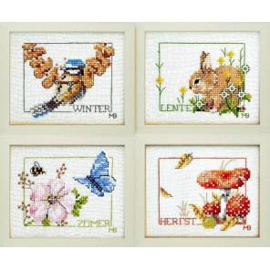 Four Seasons Набор для вышивания LanArte PN-0007953