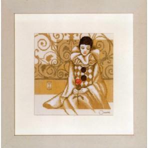 Pierrot Набор для вышивания LanArte PN-0008117