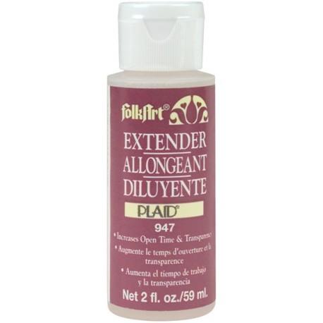 Жидкость продления высыхания краски FolkArt PLD- 947