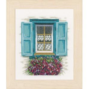 Window with shutters Набор для вышивания LanArte PN-0167123