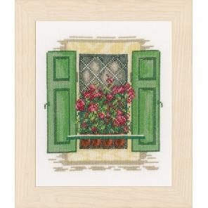 Window with shutters Набор для вышивания LanArte PN-0167122