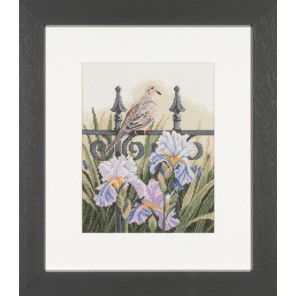 Backyard Beauties-Mourning Dove Набор для вышивания LanArte PN-0008189